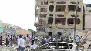 Al-Shabab Says It Carried Out Deadly Car Bomb Attack On Somalia Hotel