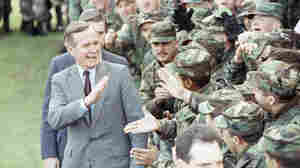 George H.W. Bush's Wartime Experience Shaped His Approach To Politics