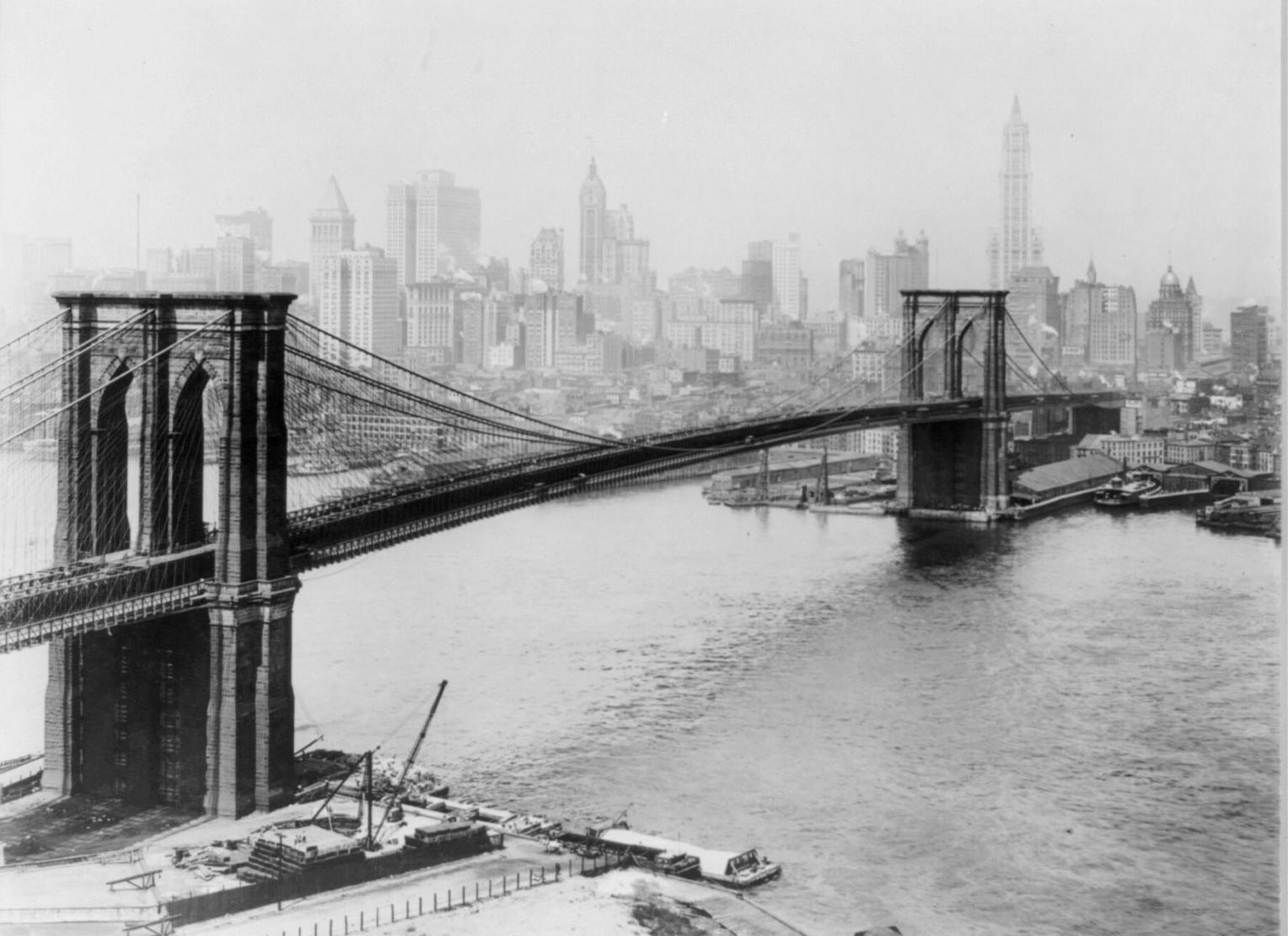 A Sip Of History: The Hidden Wine Cellars Under The Brooklyn Bridge : The  Salt : NPR