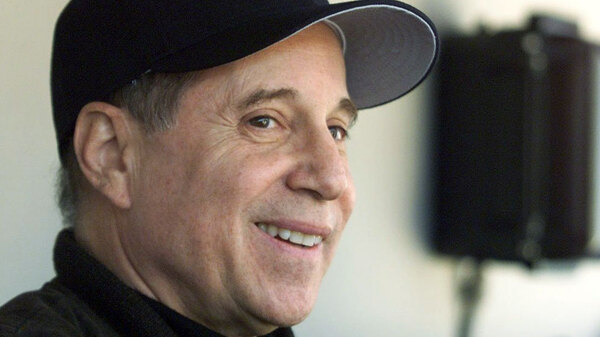 Paul Simon collaborated with Philip Glass on the album Songs from Liquid Days.
