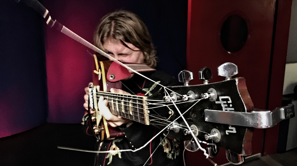 """Ty Segall performs """"Break A Guitar"""" live at KCRW."""