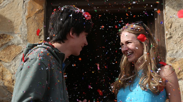 The Boy Who Fell to Earth: Gardner (Asa Butterfield) brings Tulsa (Britt Robertson) into his orbit.