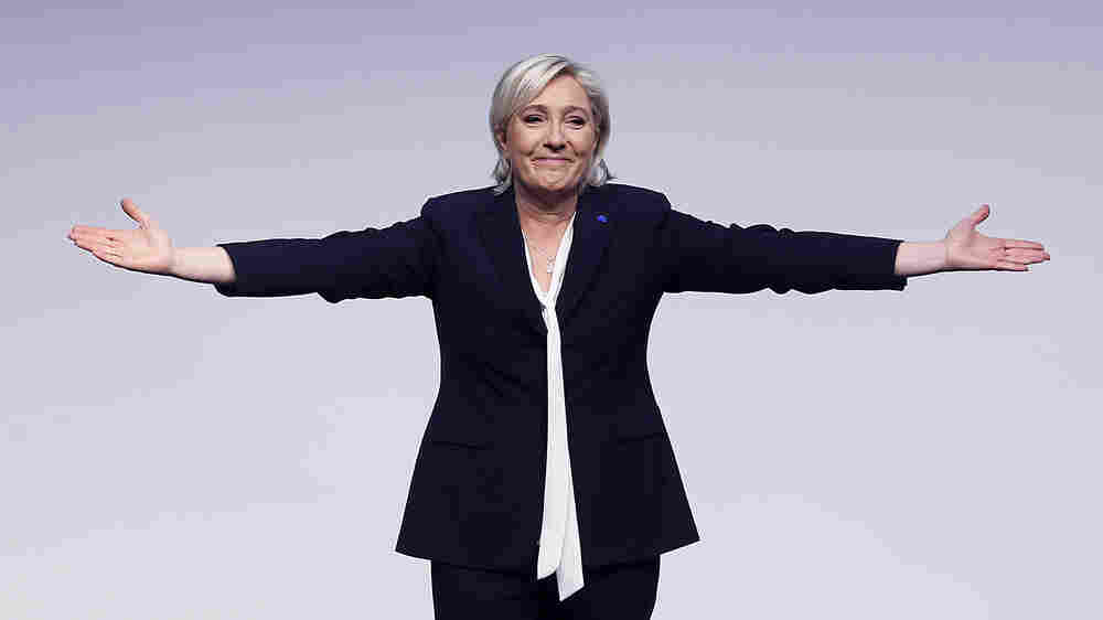 France's Far-Right Candidate For President Is A Contender