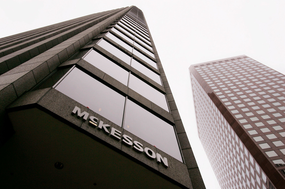 McKesson Corp. agreed to pay a $150 million fine to settle claims that it failed to report suspicious orders for controlled substances. (Paul Sakuma/AP)
