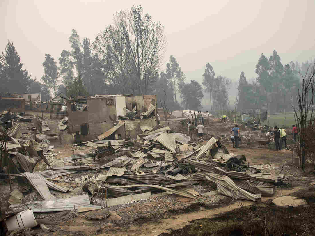 Devastating wildfires worst in Chile's history