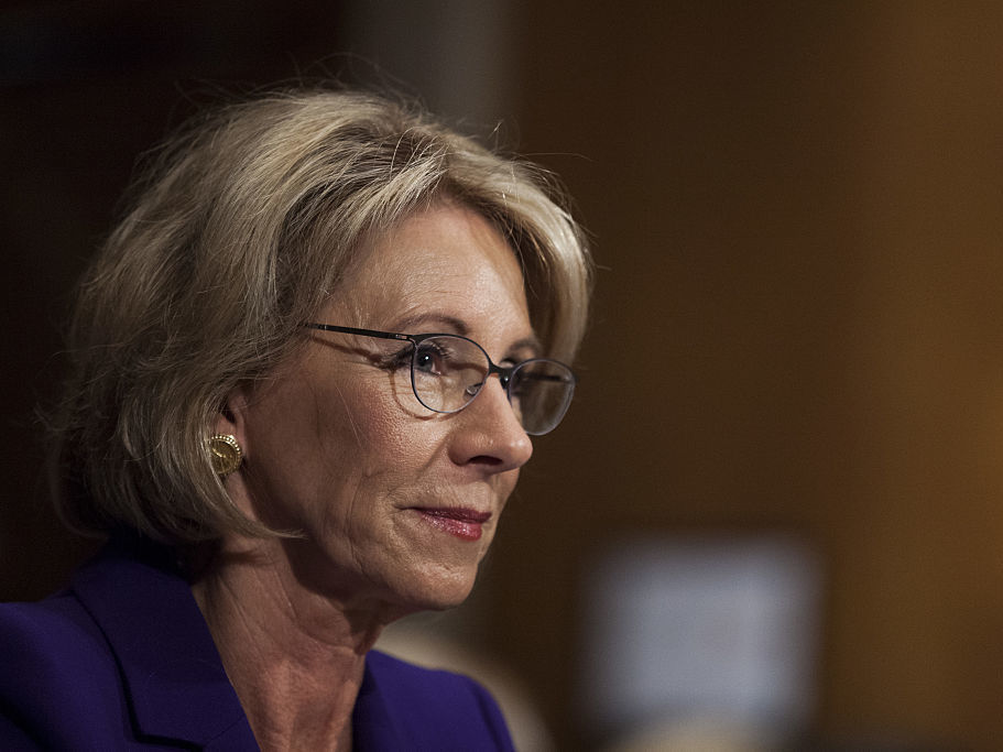 Despite the objections of Senate Democrats teachers unions and others school choice activist and billionaire Republican donor Betsy De Vos passed a committee vote to be secretary of education. The nomination now moves to the full Senate