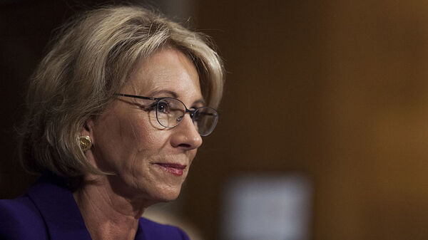 Despite the objections of Senate Democrats, teachers unions and others, school choice activist and billionaire Republican donor Betsy DeVos passed a committee vote to be secretary of education. The nomination now moves to the full Senate.