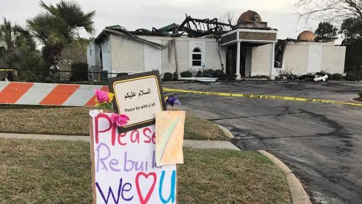 Donations To Burned Texas Mosque Top $1 Million In Outpouring Of Support