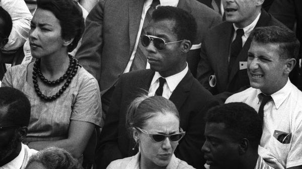 James Baldwin in I Am Not Your Negro