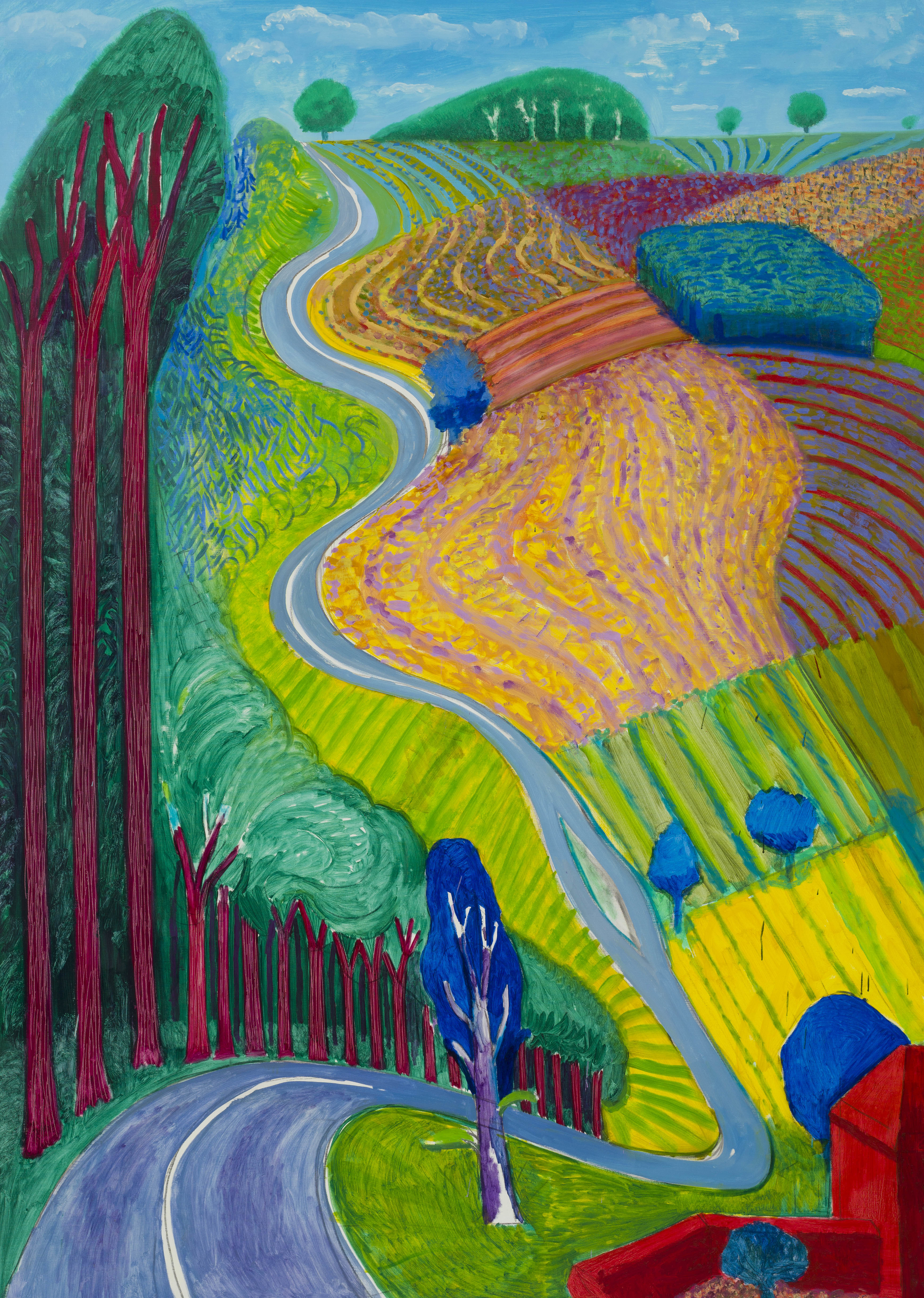 At 79, David Hockney Isn't Keen On Parties, But Still Paints Every Day