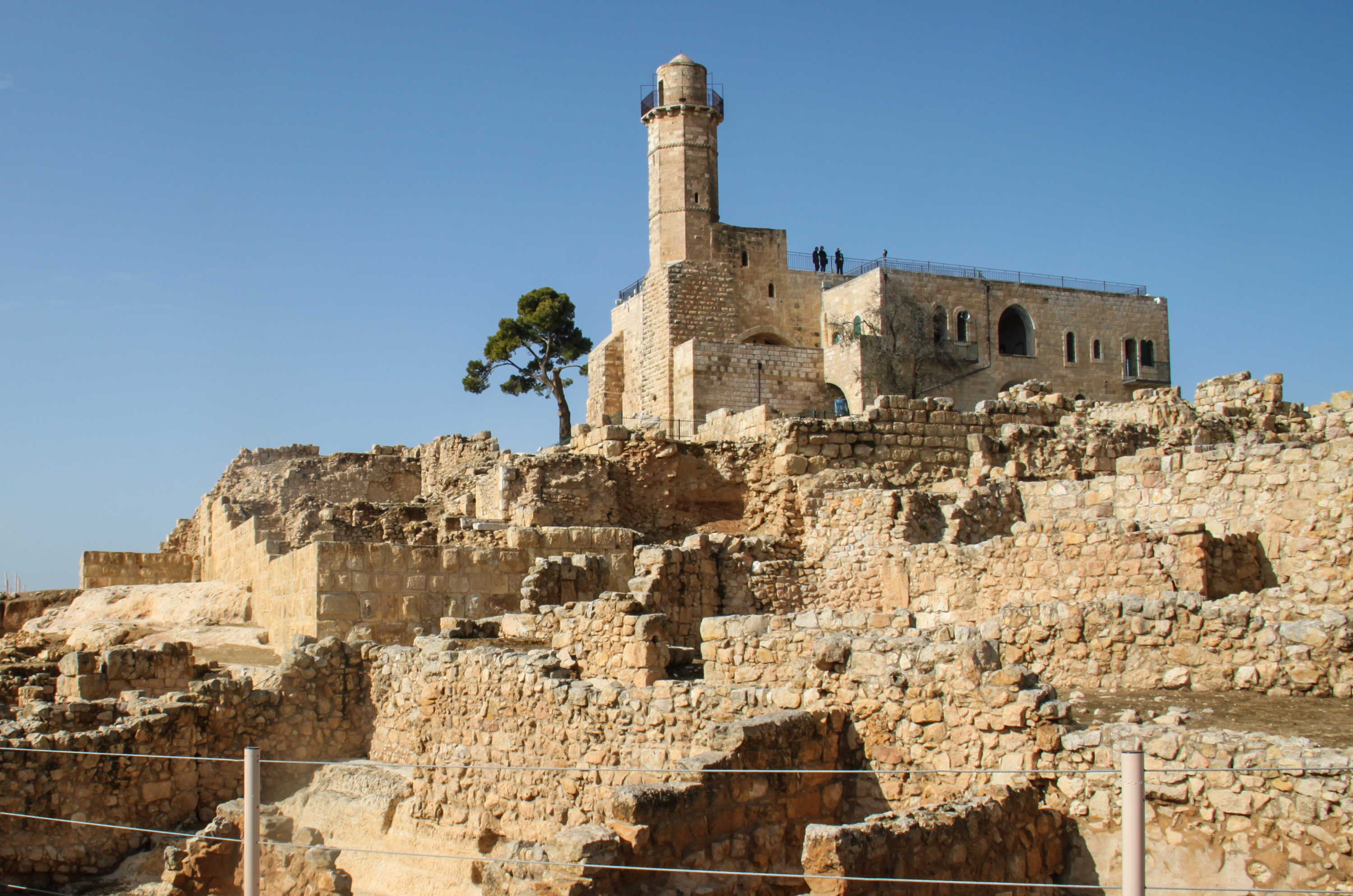 In West Bank, Israeli And Palestinian Archaeologists Both Lay Claim To Heritage