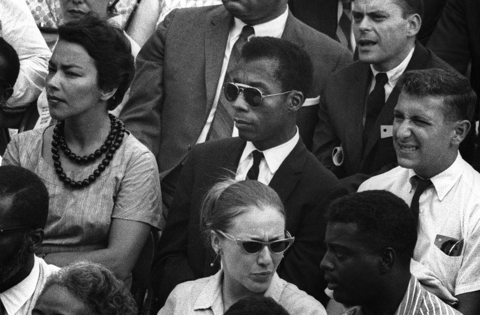 Archival footage of James Baldwin punctuates the powerful documentary <em>I Am Not Your Negro.</em> (Dan Budnik/Magnolia Pictures)