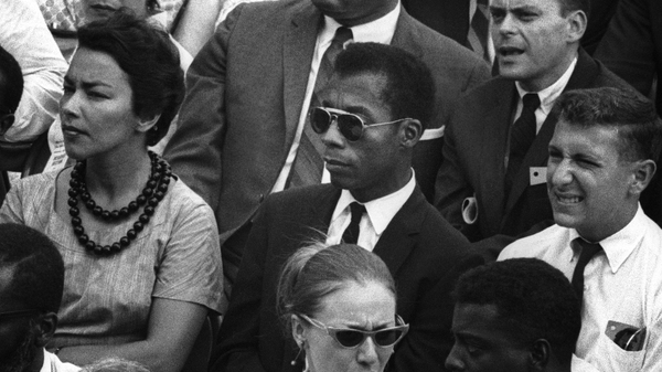 Archival footage of James Baldwin punctuates the powerful documentary I Am Not Your Negro.