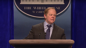 WATCH: As SNL Takes On Trump's Team, Sean Spicer Gets His Roast