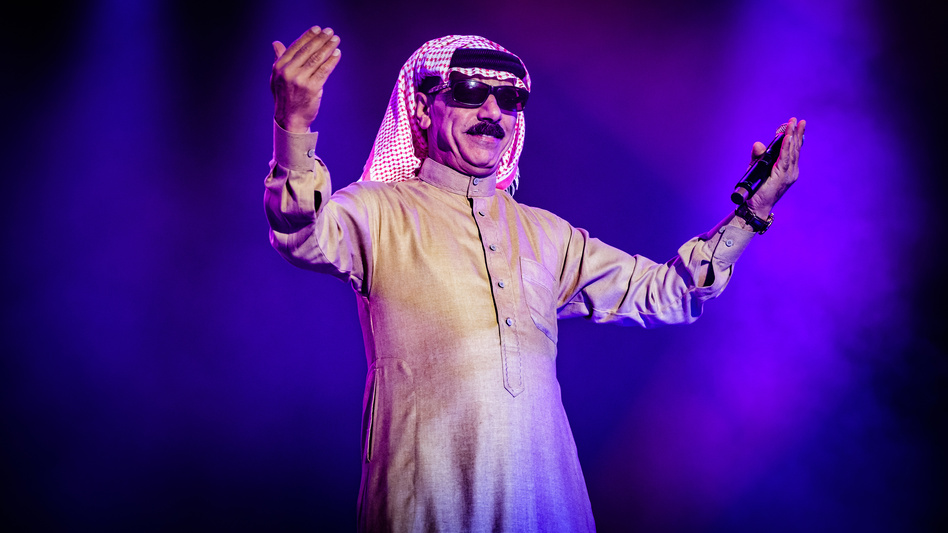 Syrian singer Omar Souleyman (performing here in Malmö, Sweden, in August 2016) is among the musicians whose performances in the U.S. have been left in limbo.