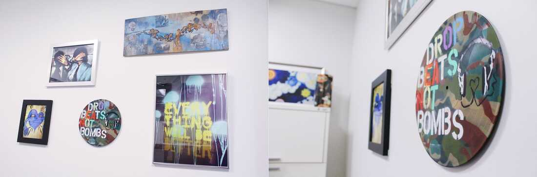 Ashley's Office Wall Art