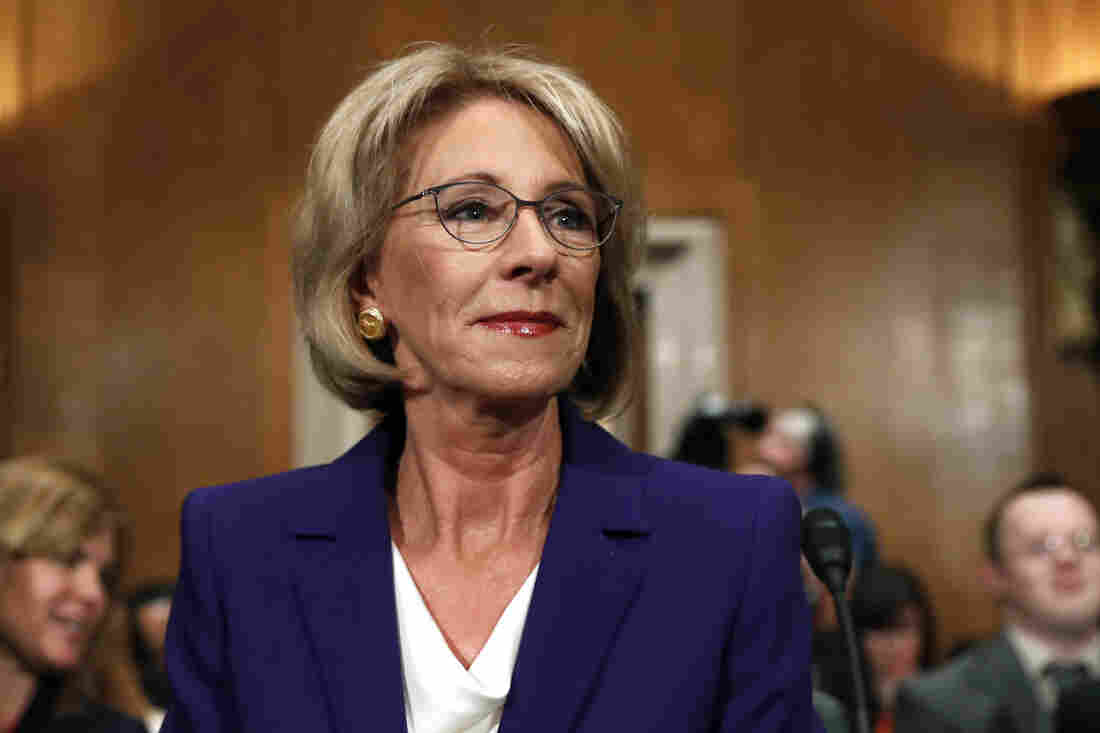 Pittsburgh Public Schools students protest confirmation of US Education Secretary Betsy DeVos