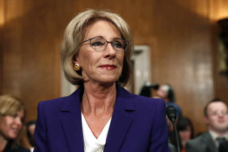 5 Reasons Why Trump Pick Betsy Devos Is >> Betsy Devos Confirmed To Lead Education Department As