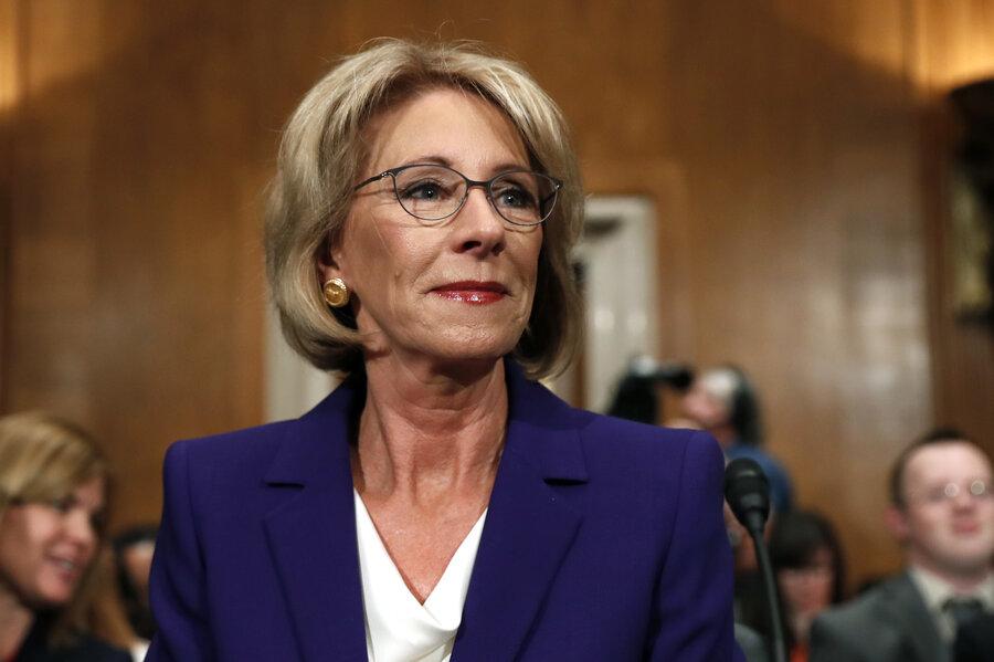 Betsy DeVos Confirmed To Lead Education Department As Democratic ...