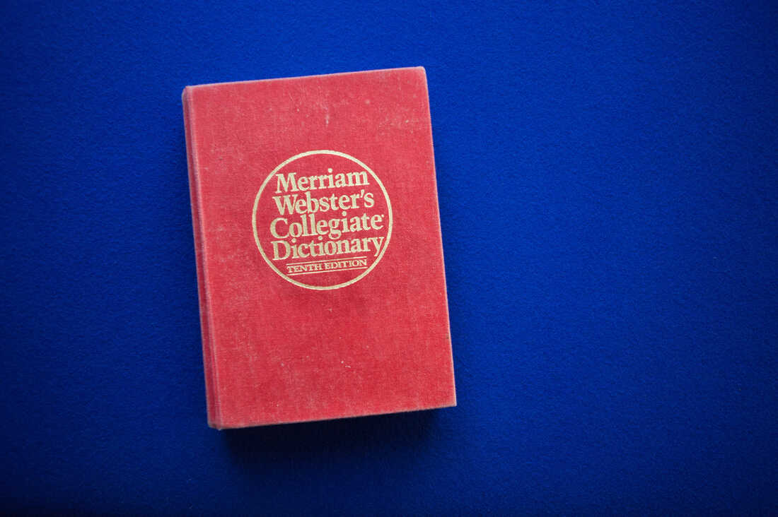 Merriam Webster's Collegiate Dictionary, 10th Edition.