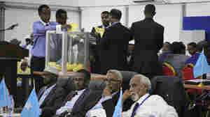In Somalia's Historic Presidential Election, A Surprise Victor Declared