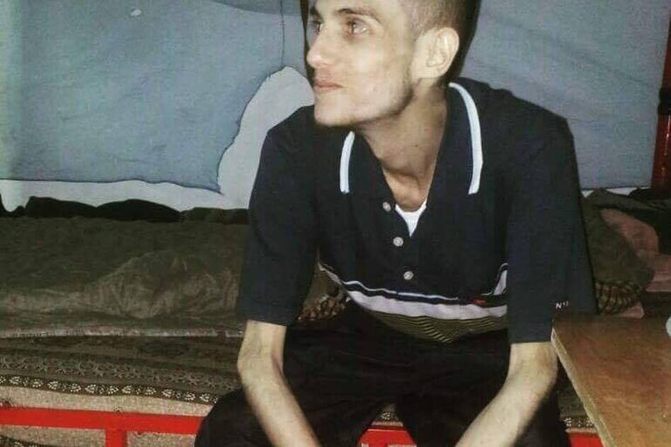Omar al-Shogre says he spent 10 months in Sednaya prison. He says he was arrested at age 17 and was in various Syrian prisons for more than two years before he was sent to Sednaya. (Courtesy of Omar al-Shogre)