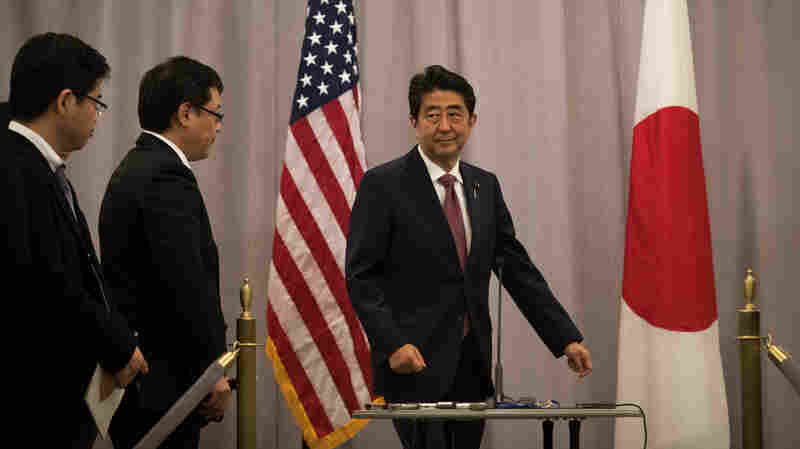 In Talks With Trump, Japan's Shinzo Abe Will Seek To Smooth Economic Tensions