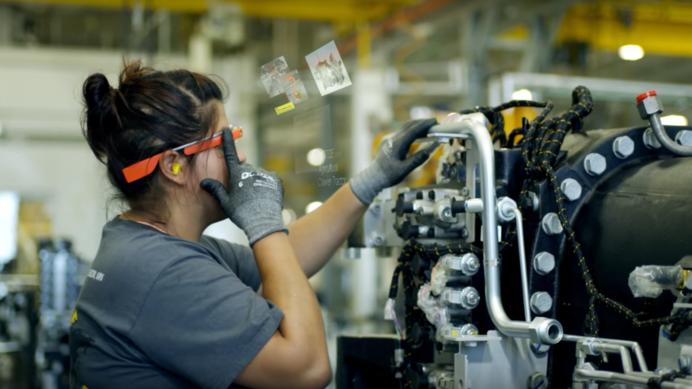 окуляри гугл в промисловості