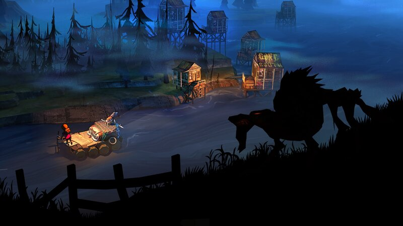 Reading The Game: The Flame In The Flood : All Tech Considered : NPR