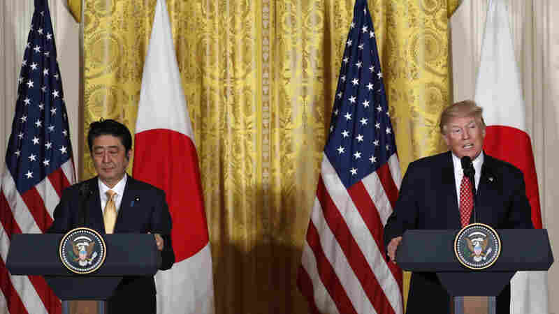 In Joint Conference, Trump And Abe Laud Alliance As 'Cornerstone Of Peace'