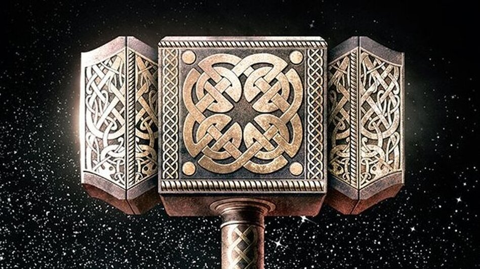 neil gaiman on norse mythology looking for thor s hammer