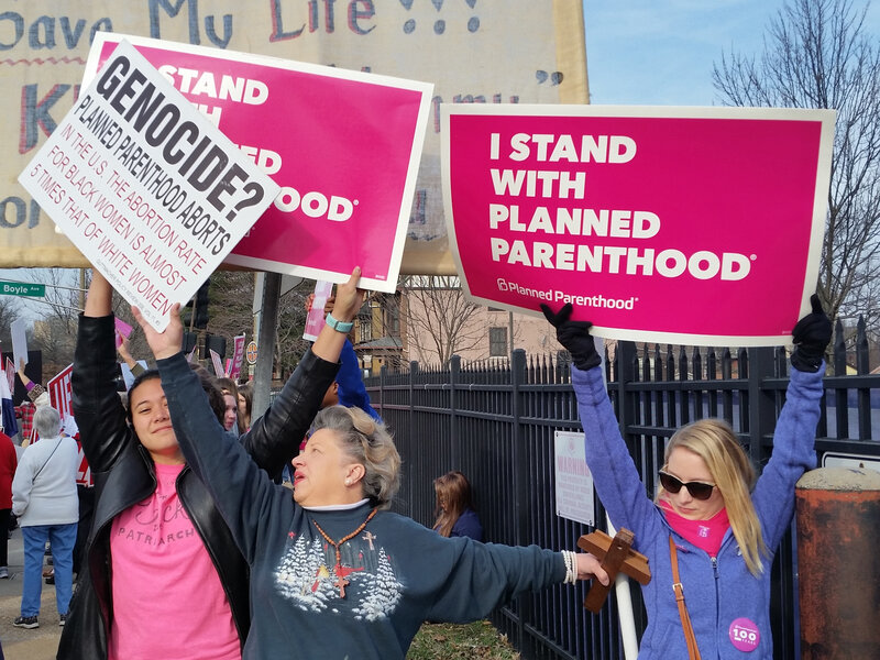Planned Parenthood Protests Rouse Dueling Rallies Nationwide The