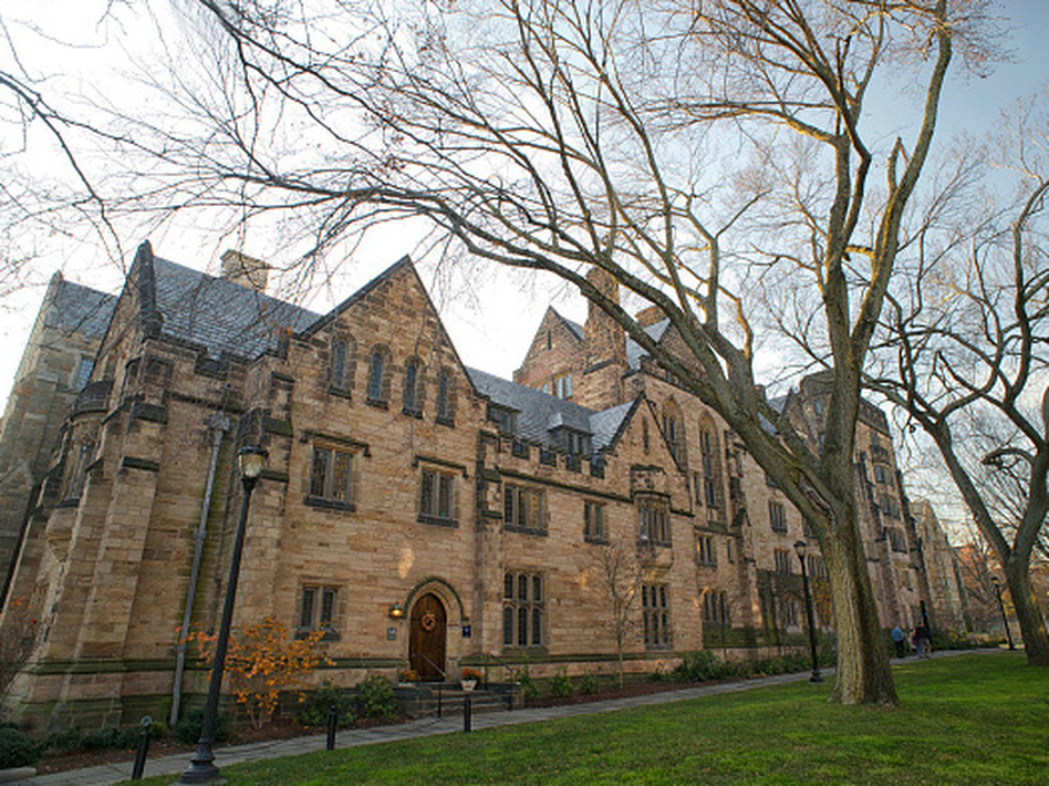 Calhoun College part of Yale University built in 1933, in collegiate gothic style architecture. The residential college is to be renamed in honor of 1930s alumnus and computer scientist Grace Murray Hopper.