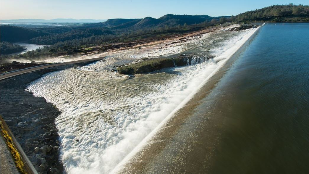Signs Of Hope At Oroville Dam, After Overflow Sparked Large
