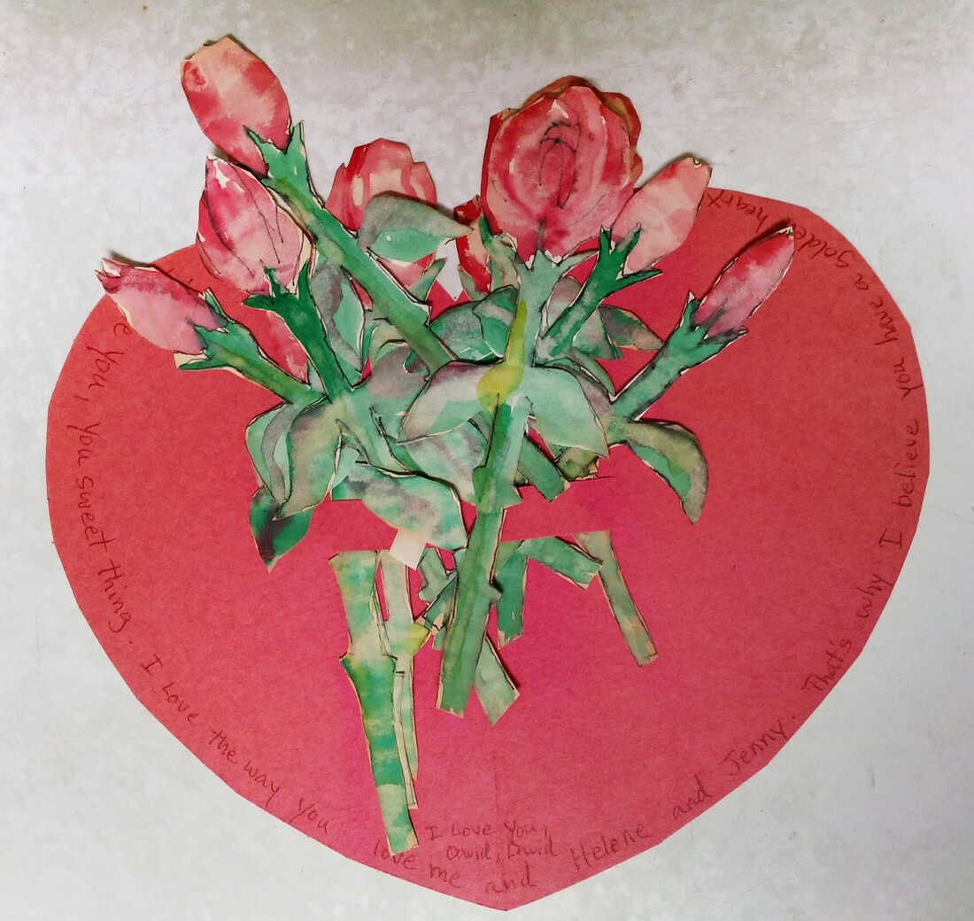 """This """"bouquet of roses"""" from her husband is Linda Knopf's most memorable valentine."""