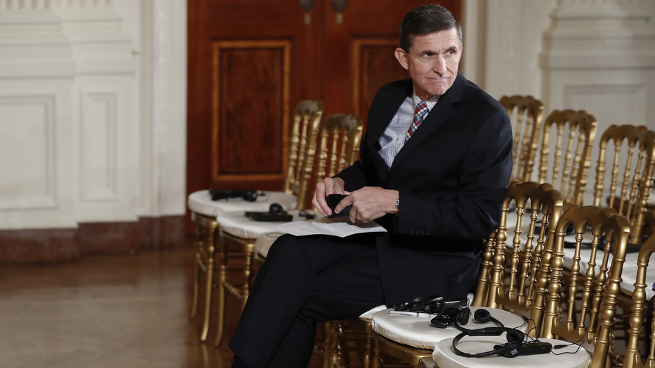 National security adviser Michael Flynn has resigned amid allegations he misled then-Vice President-elect Pence about the extent of a conversation he had with the Russian ambassador. (Carolyn Kaster/AP)