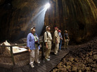 Each year thousands of people from around the world tour the Gomantong Cave in Borneo. Although scientists have found a potentially dangerous virus in bats that roost in the cave, no one has ever gotten sick from a trip here.