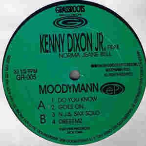 Kenny Dixon Jr. Feat. Norma Jeane Bell, Moodymann EP