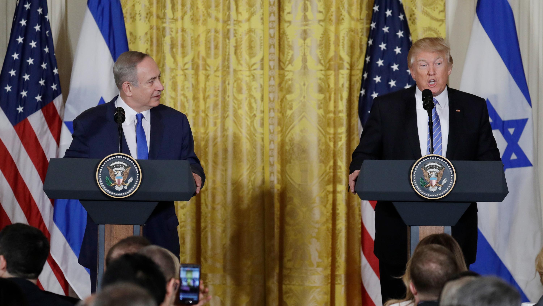 'I'd Like To See You Hold Back On Settlements,' Trump Tells Netanyahu