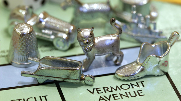 Hasbro has announced that the thimble will no longer be a part of Monopoly. The thimble is very sad, according to an interview we imagined.