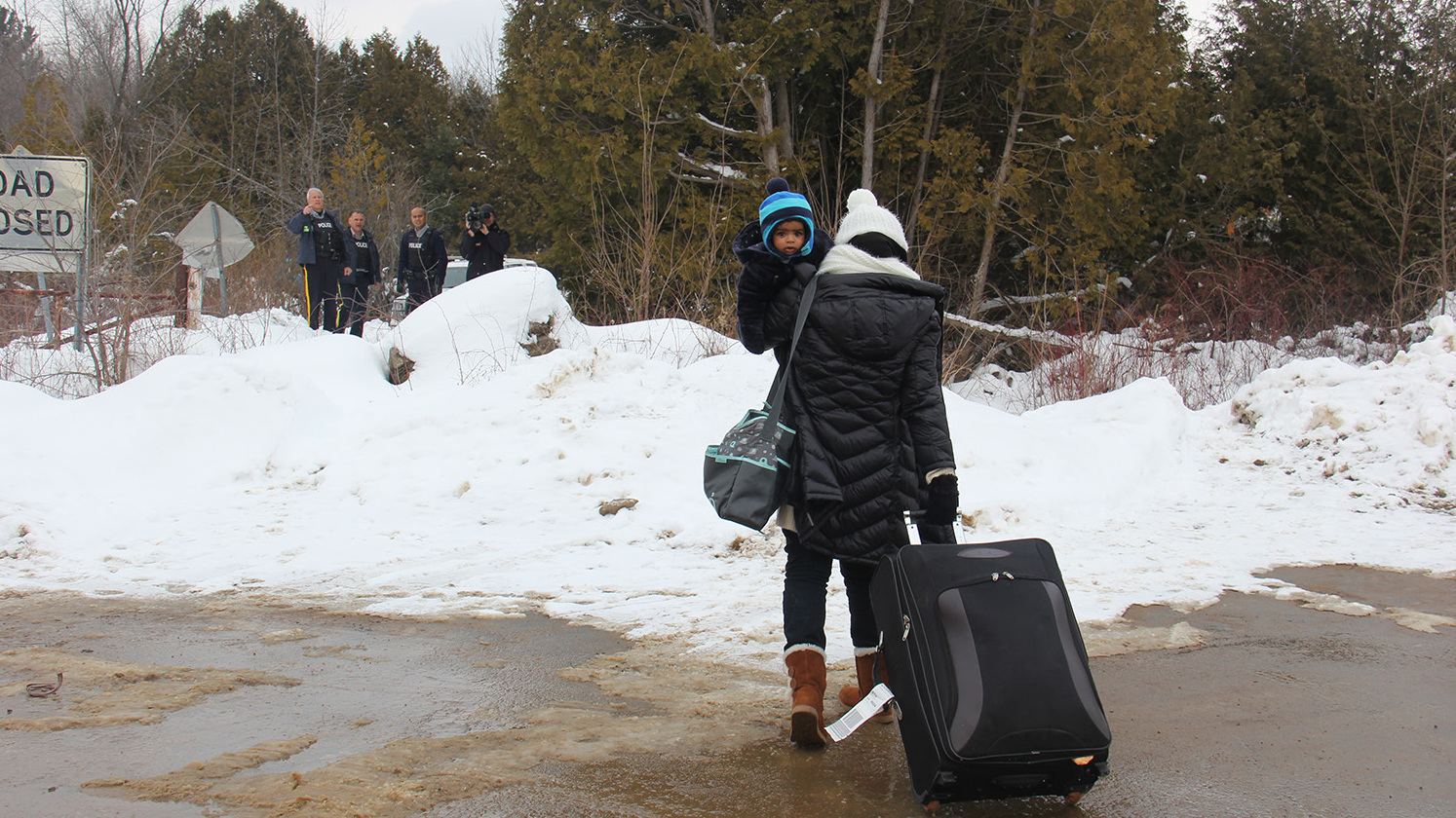 Migrants Choose Arrest In Canada Over Staying In The U.S.