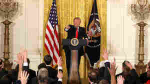 Trump's Thursday Press Conference, Annotated