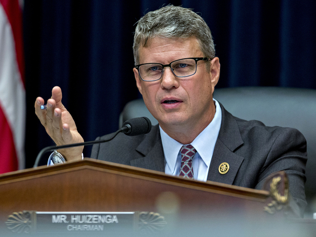 "Rep. William ""Bill"" Huizenga, R-Mich., says House Republicans ""know the direction we want to go and sort of the destination"" with replacing Obamacare."
