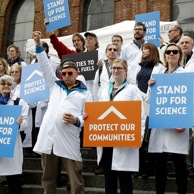 Should Scientists March? U.S. Researchers Still Debating Pros And Cons