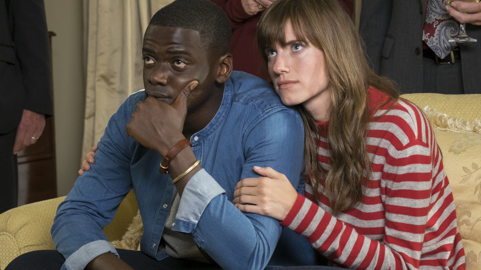 Guess Who's Coming To Dinner And Never Leaving: Chris (Daniel Kaluuya) and Rose (Allison Williams) in <em>Get Out</em>. (Justin Lubin/Universal Pictures)