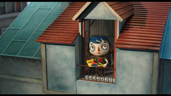 Summer, Squashed: Tragedy is about to strike young Icare (voiced in English by Erick Abbate) in My Life as a Zucchini.