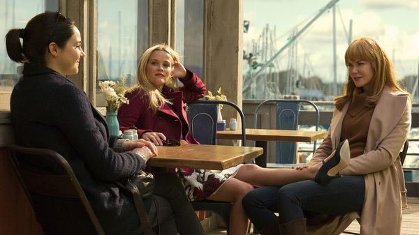Shailene Woodley, Reese Witherspoon and Nicole Kidman play Monterey moms — and possible murderers — in the HBO miniseries Big Little Lies.