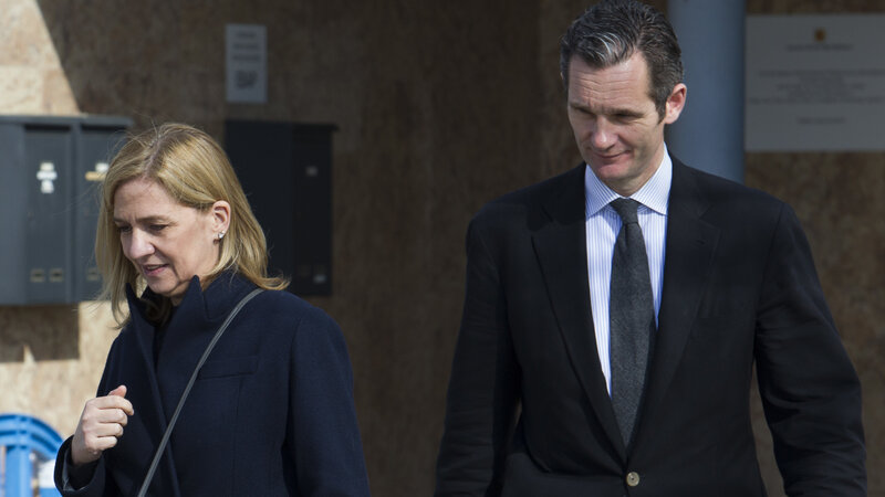 Spain's Princess Cristina Is Cleared In Fraud Trial