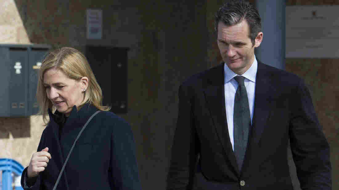 King of Spain's brother-in-law found guilty in corruption scandal, princess absolved