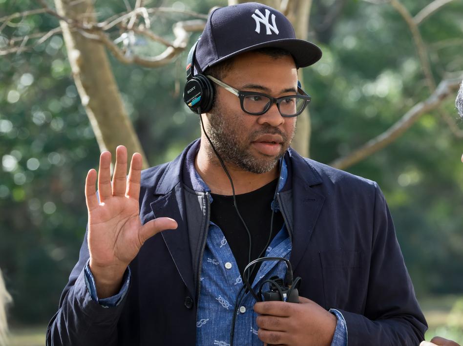 Writer/director/producer Jordan Peele on the set of Universal Pictures' <em>Get Out</em>. (Justin Lubin/Universal Pictures )